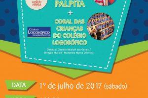 Coração Palpita e Coral infantil do Logosófico fazem show gratuito no Vila da Serra